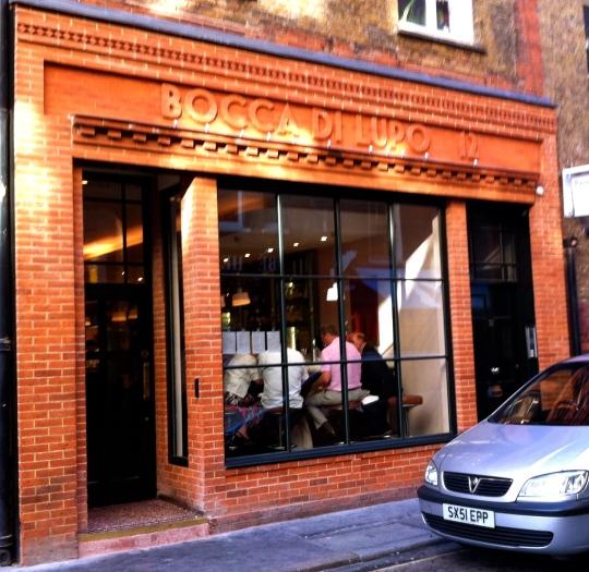 London bocca di lupo chow the city - Bocca di lupo finestra ...